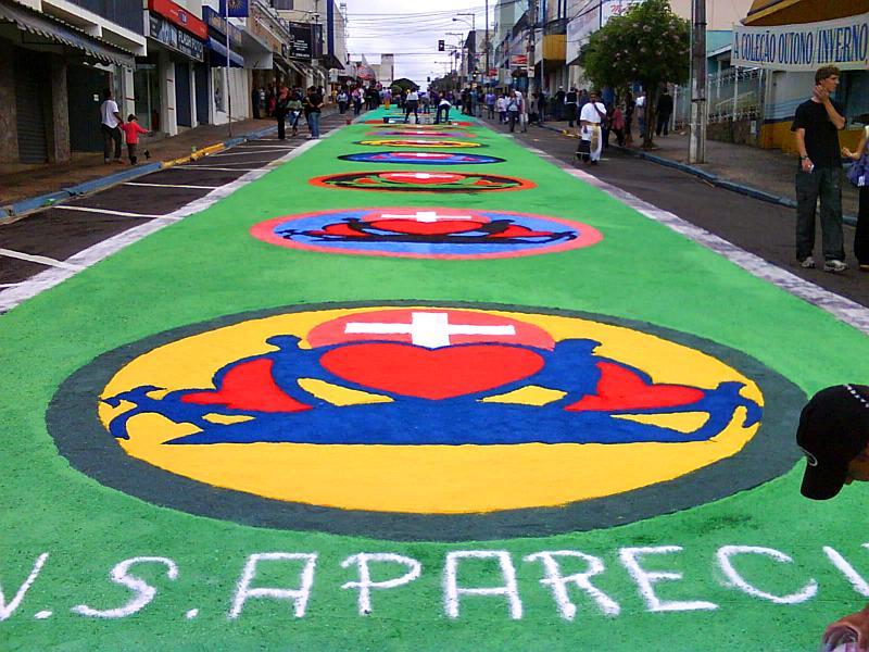 Corpus Christi en Brasil