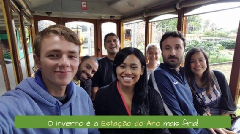 Estaciones del año en Brasil. Las estaciones en Portugués. O Inverno é a Estação do Ano mais fria!