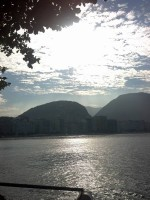 viewing from copacabana's fortress to copacabana's sea, learn Portuguese and discover Rio de Janeiro with RioLIVE! Activities by Rio&Learn Portuguese School.