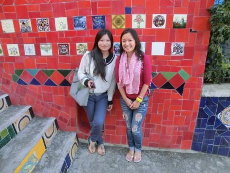 Alunas chinesas da Escola de Português Rio&Learn.