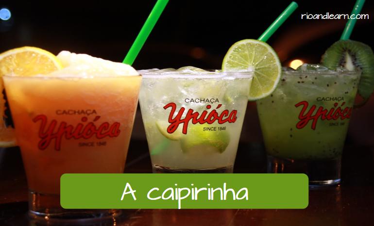 How to prepare Caipirinha. A Caipirinha.