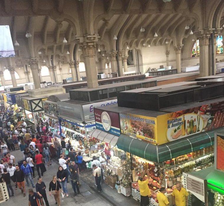 Mercado Municipal in São Paulo.
