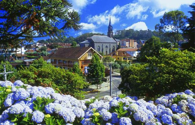 Gramado en Río Grande do Sul, Brasil.