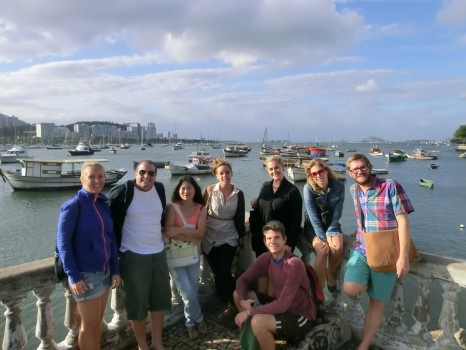 Rio&Learn Portuguese students at Urca.