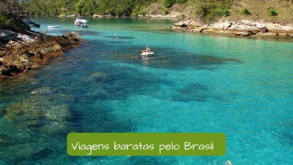 cheap travel in Brazil. Costa verde region. Região dos lagos. Rio de janeiro. Agua azul