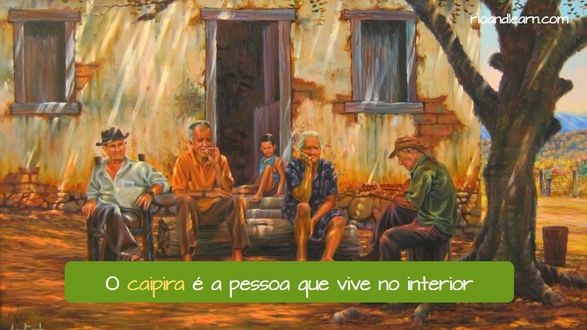 Los Caipiras de Brasil.
