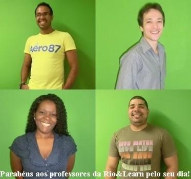 Dia dos professores. A Dica do Dia, Free Portuguese classes from Rio de Janeiro by Rio&Learn Portuguese School.