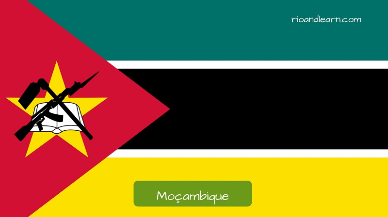 Mozambique's flag