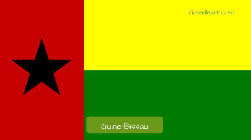 Guinea-Bissau's flag