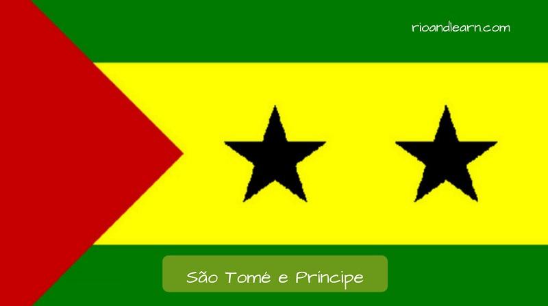 São Tomé and Príncipe's flag