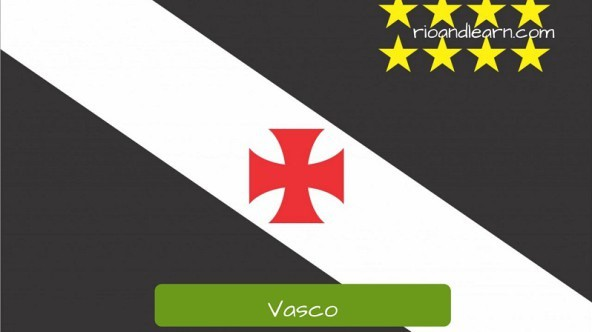 Vasco es uno de los más importantes equipos de fútbol de Río de Janeiro.