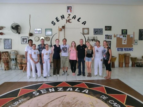 Capoeira with Grupo Senzala and Rio & Learn.