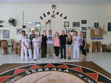 Capoeira with Grupo Senzala and Rio & Learn.