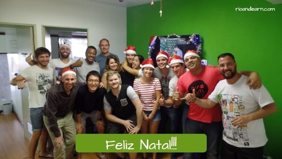 Christmas in Brazil. Feliz Natal!!!