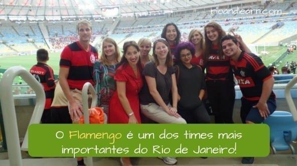 Rio Football Teams. Flamengo é um dos times mais importantes do Rio de Janeiro