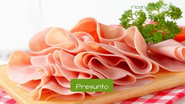 What do brazilians eat in the morning: Presunto