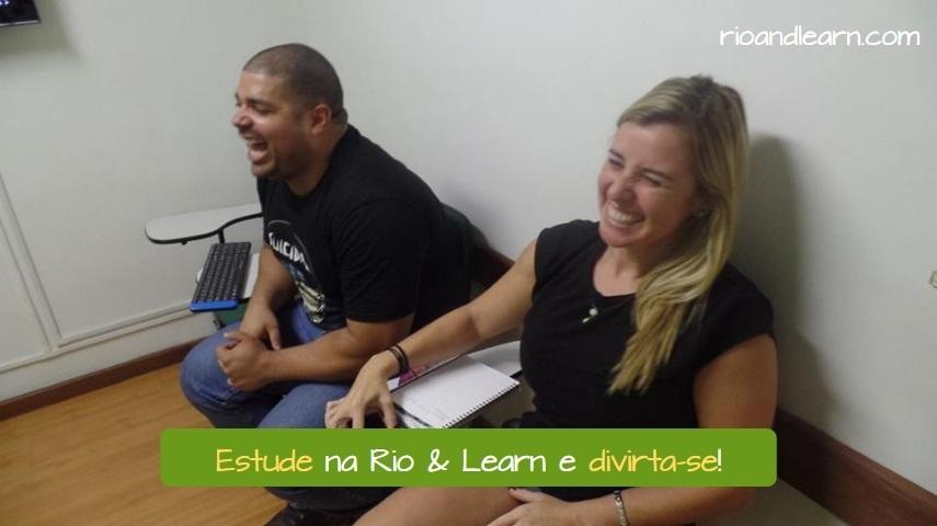 Portuguese Imperative Exercises. Estude na Rio & Learn e divirta-se.
