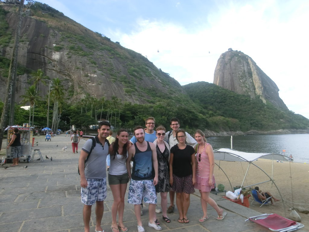 Meeting Urca and enjoying the landscape