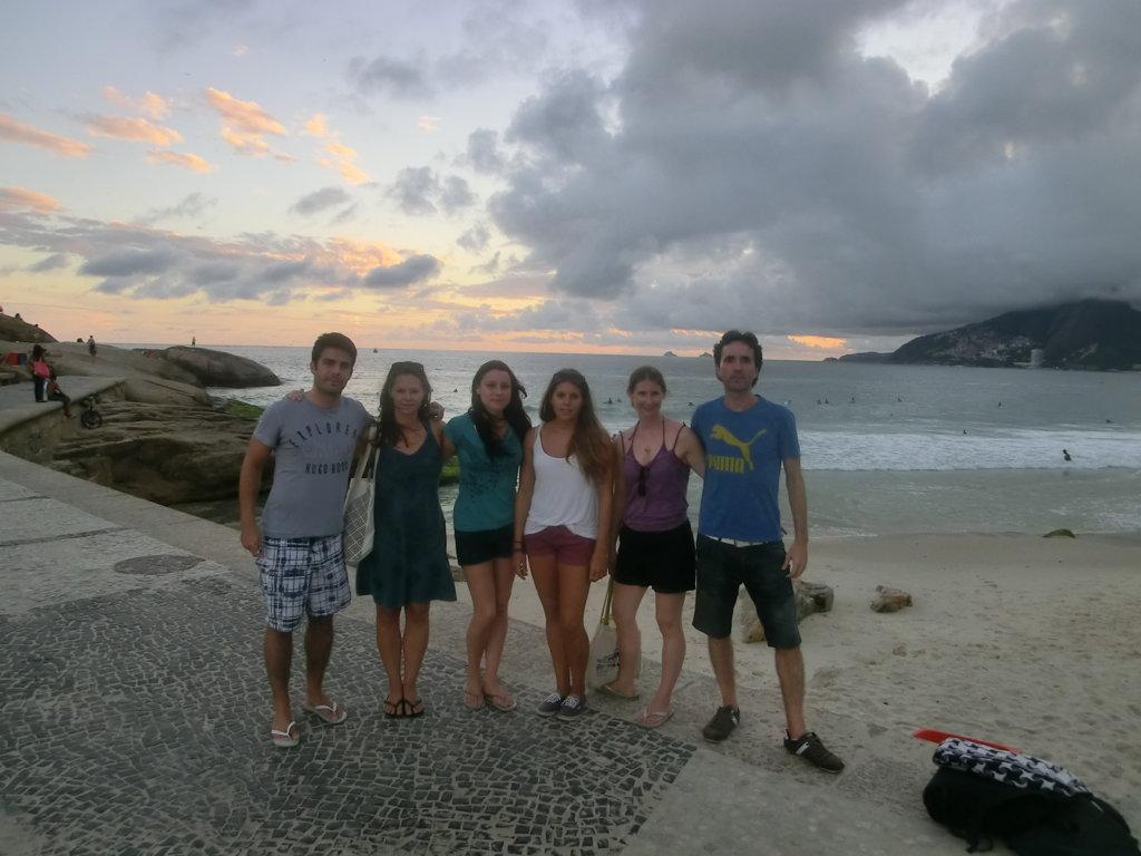 Walking through Copacabana and Arpoador and getting amazed