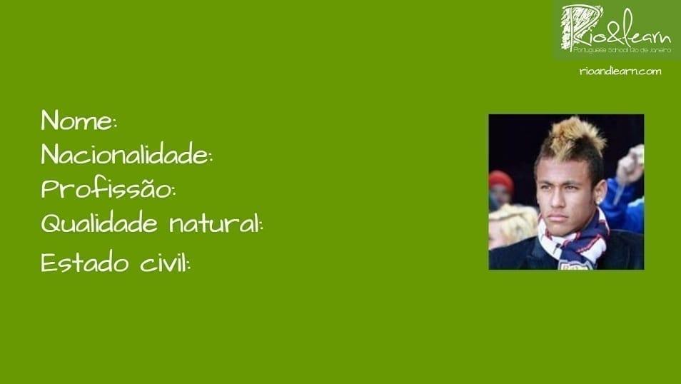 conjugate verb ser in portuguese. Nome, nacionalidade, profissão, qualidade natural, estado civil.