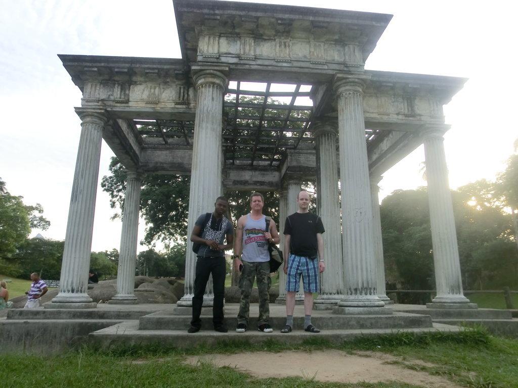At Apollo's Temple