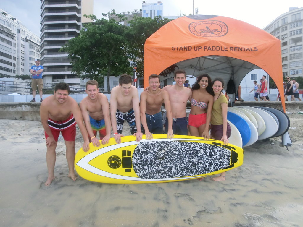 Paddle Surf Copacabana Rio & Learn RioLIVE! Activities
