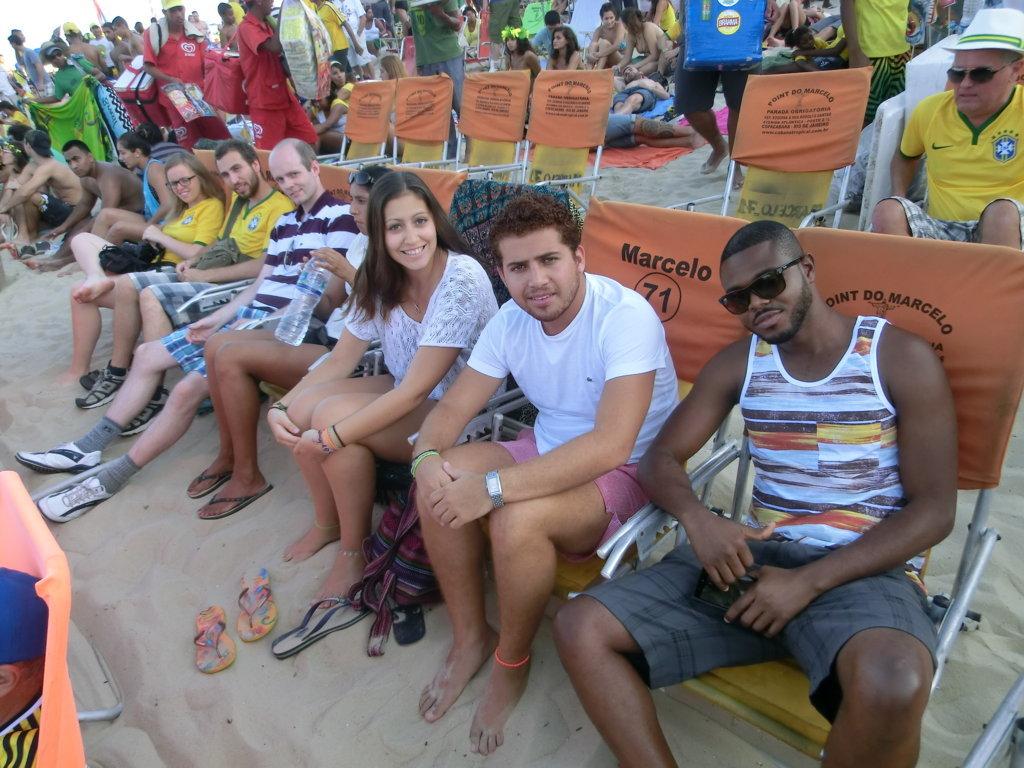 World Cup in Rio de Janeiro