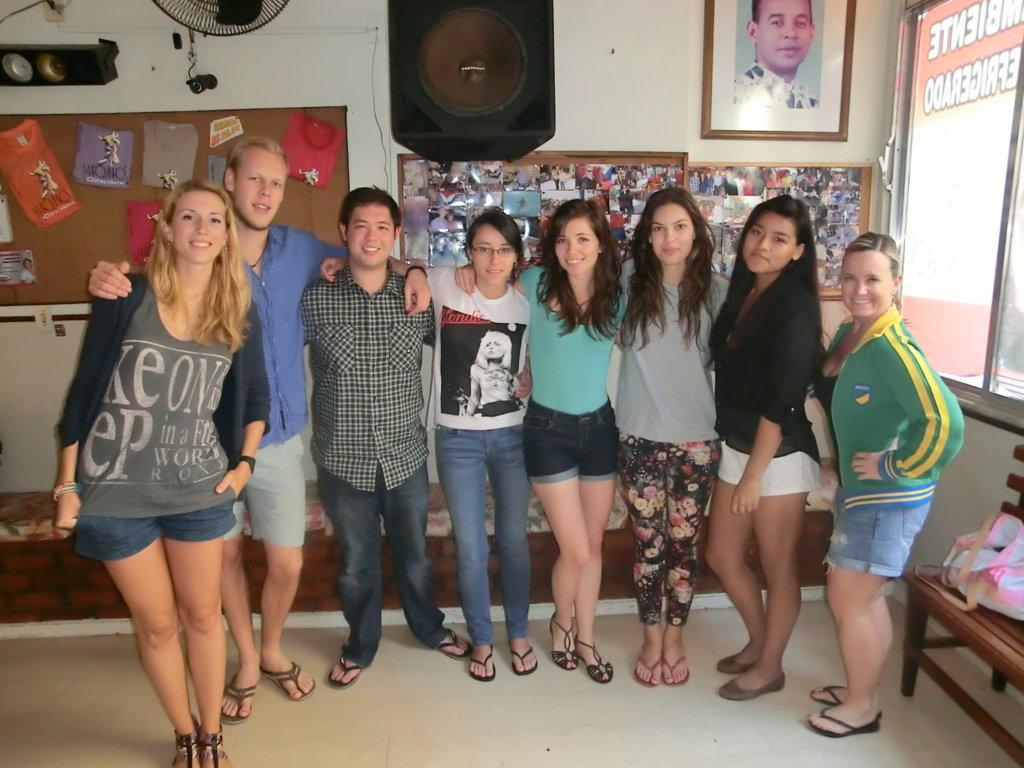 alunos de samba