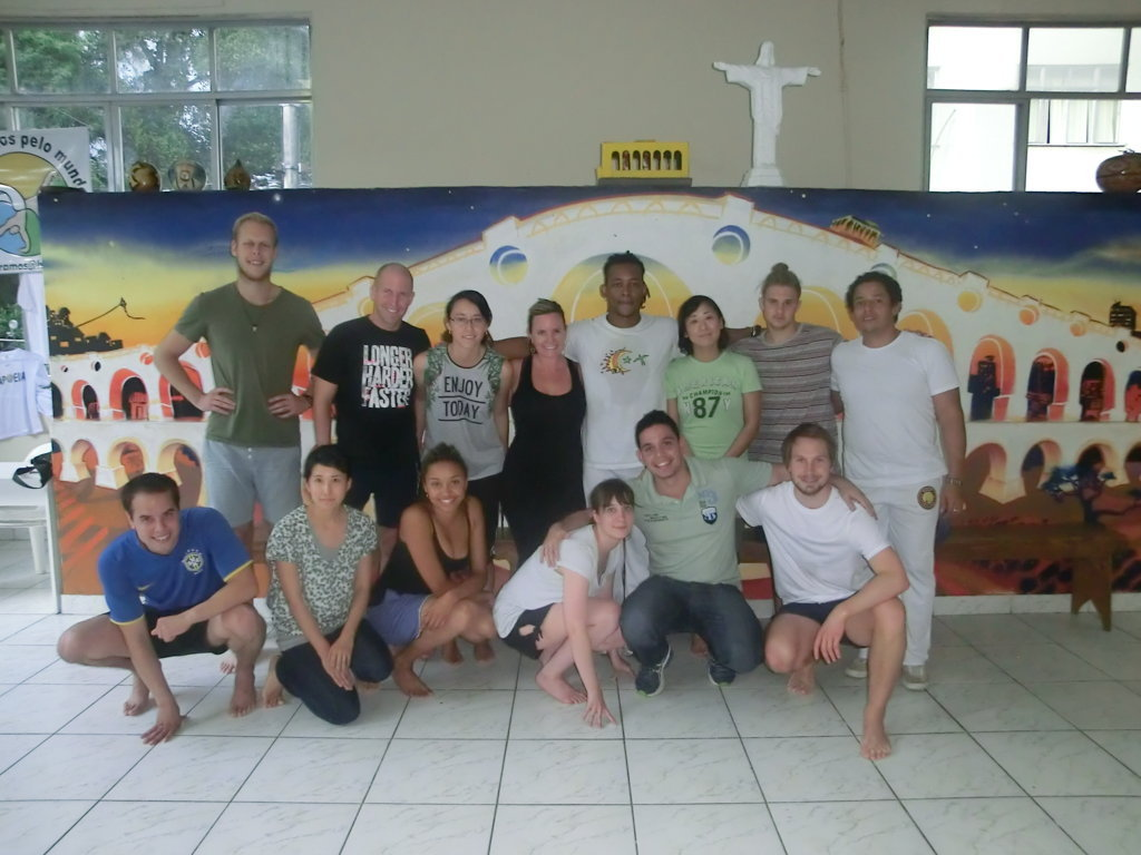 Capoeira in Brazil is the RioLIVE! Activity that our students did yesterday!
