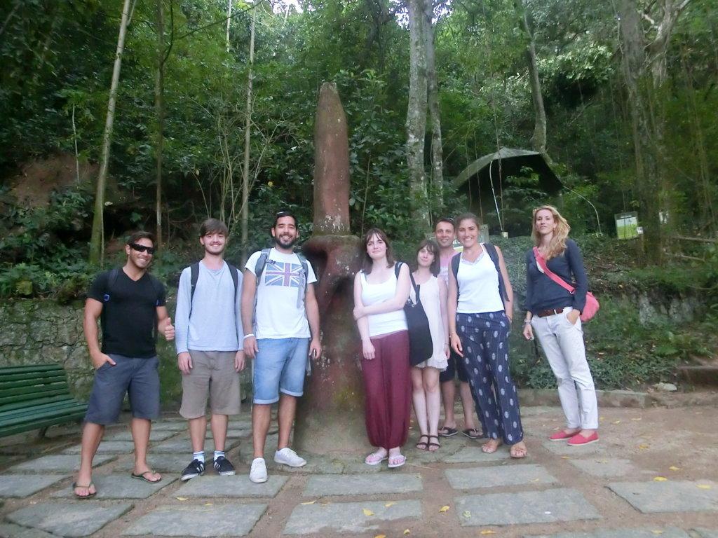 Parque da Catacumba, Rio de Janeiro, Brasil. RioLIVE! Activities!