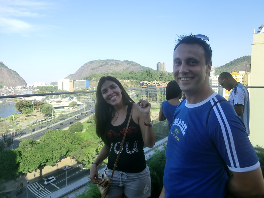 Venezuelan and French student. Learn Portuguese and discover Rio de Janeiro with RioLIVE! Activities by Rio & Learn Portuguese School.
