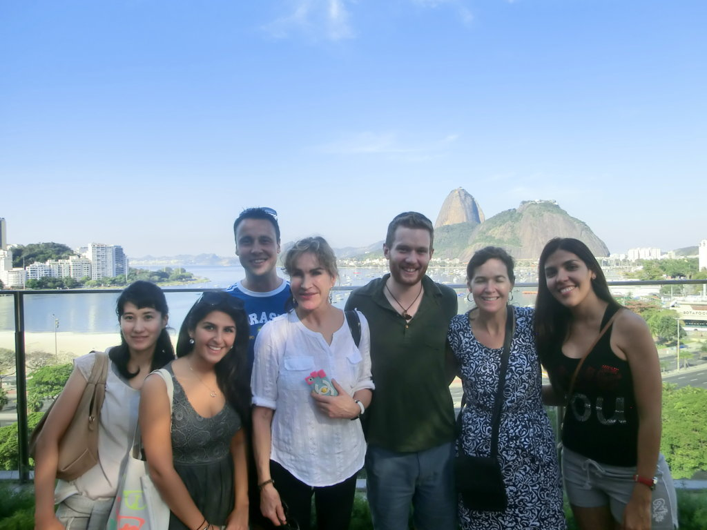 Portuguese Students at Botafogo