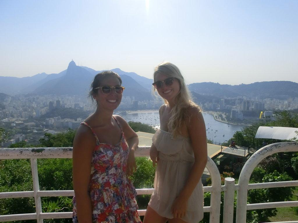Portuguese students enjoying Rio de janeiro