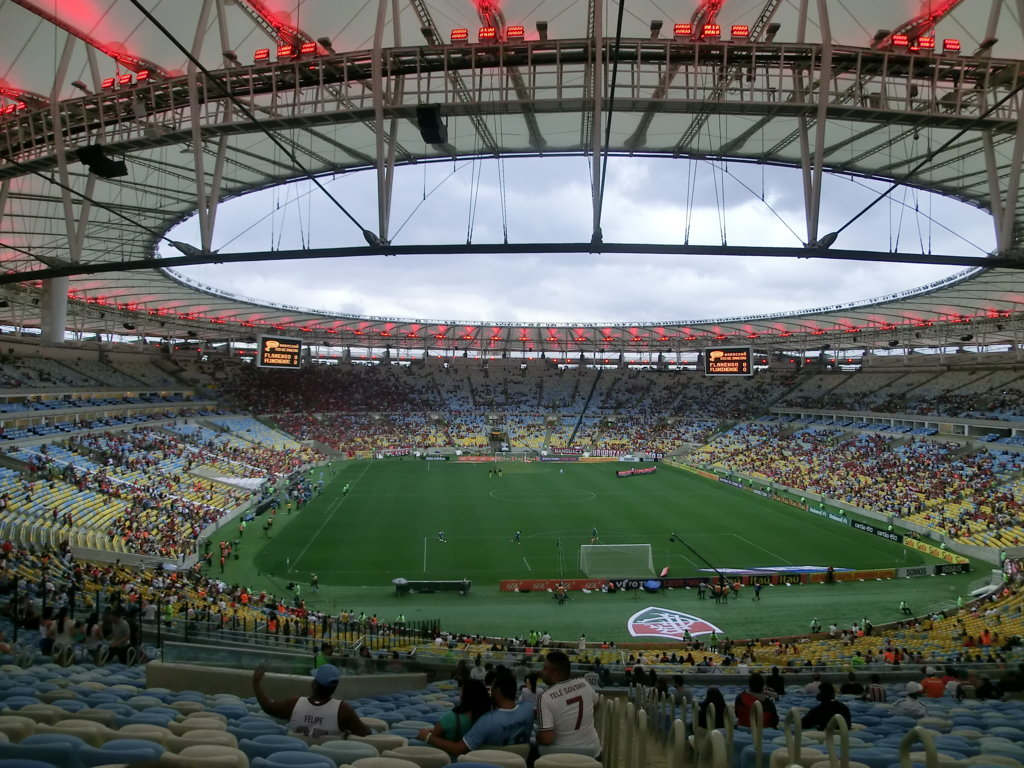 fla-flu and Portuguese at Maracanã Stadium. A RioLIVE! Activity by Rio & LearnPortuguese School.