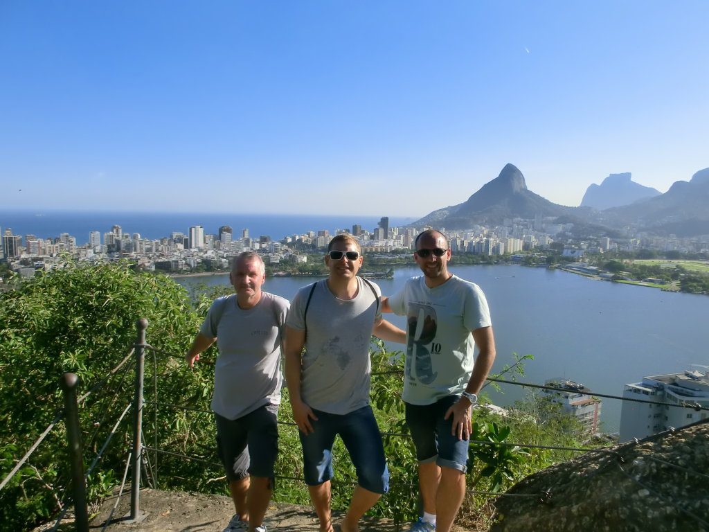 Parque da Catacumba and Lagoa
