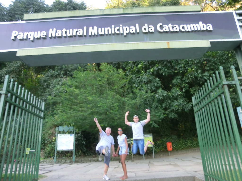 Funlearning at the doors of Parque da Catacumba