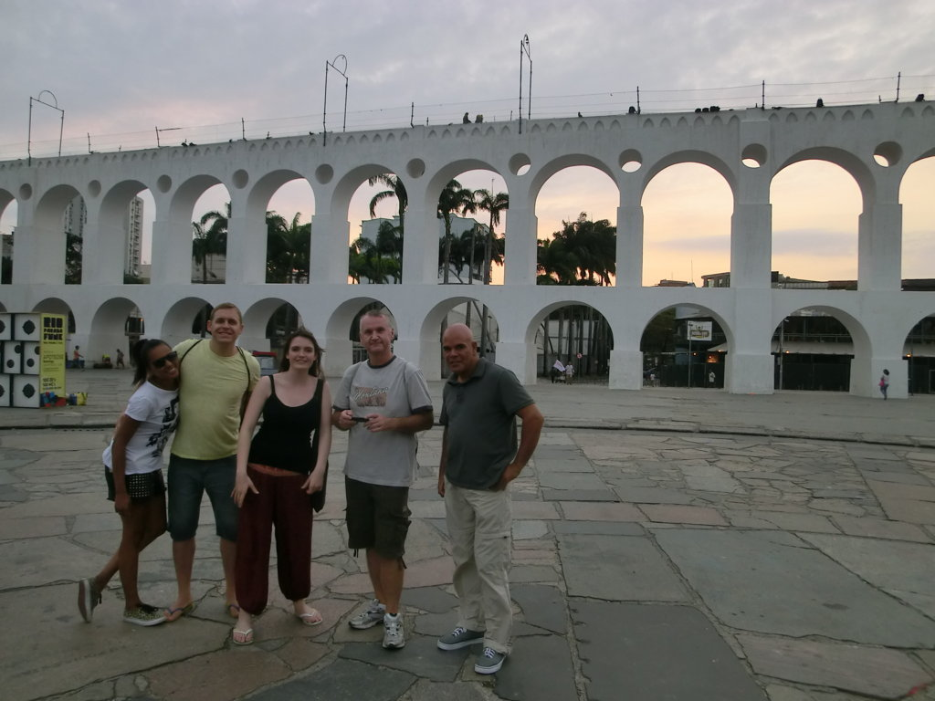 Portuguese language students at Arcos da Lapa