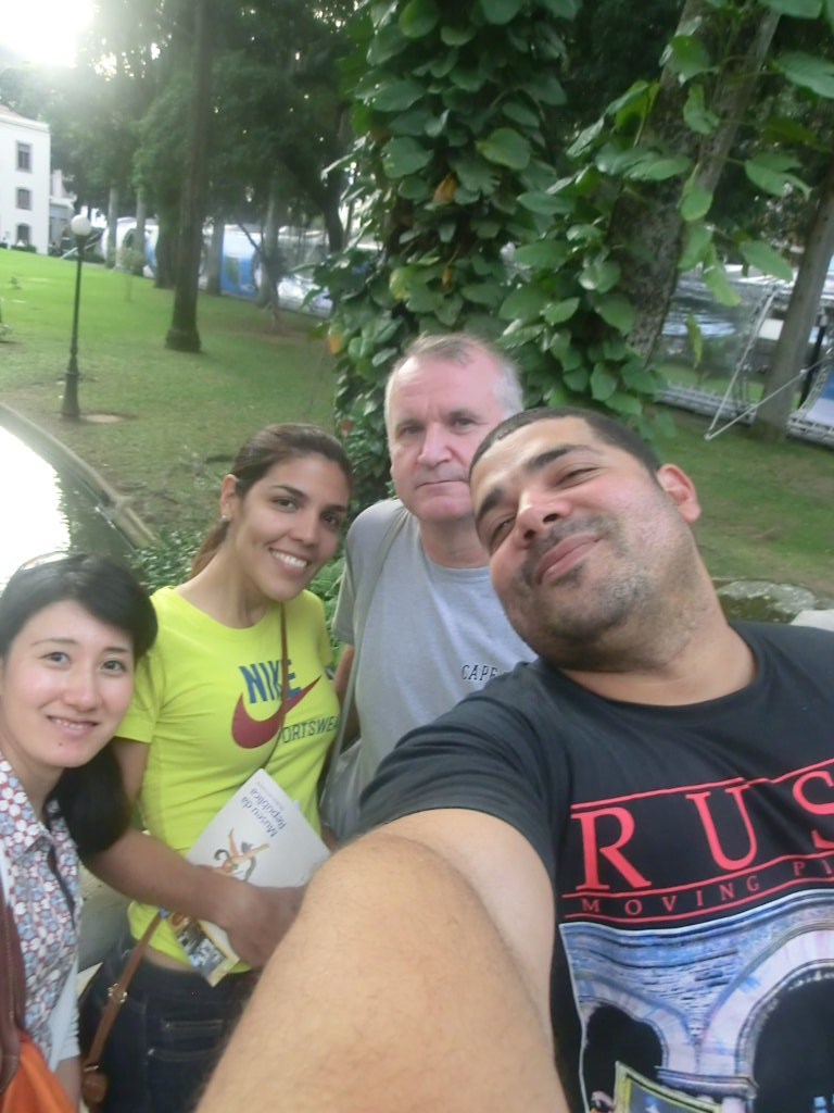 Portuguese Students doing a selfie