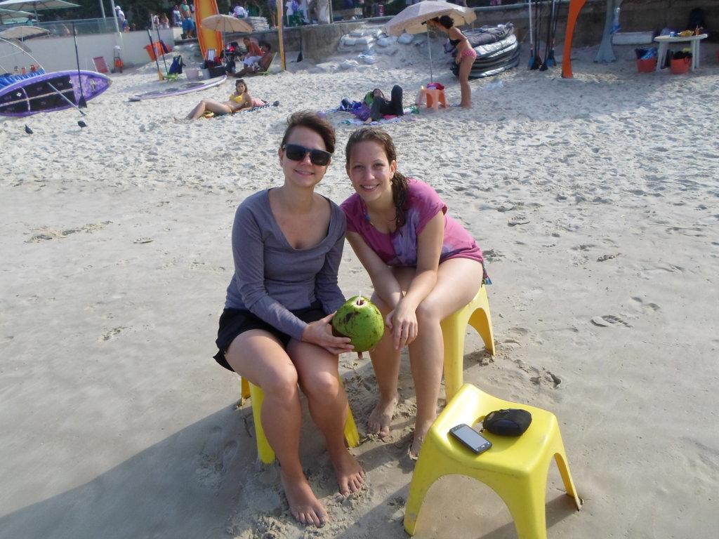 Agua de Coco y Paddle Surf en la RioLIVE!
