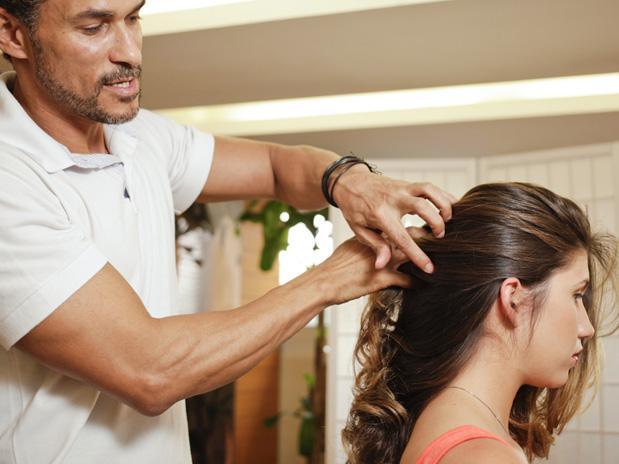 Fazer um penteado