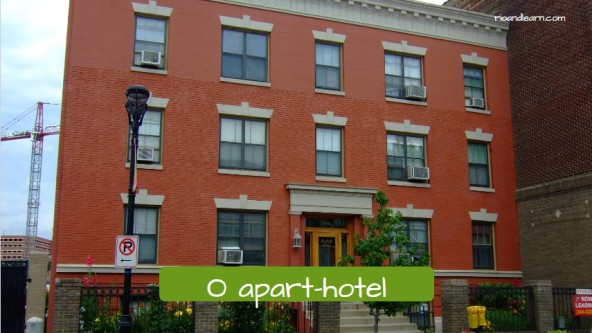 Housing in Portuguese. The apart-hotel: O apart-hotel