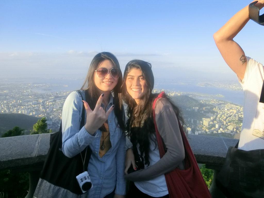 Portuguese students enjoying a RioLIVE! Activity!