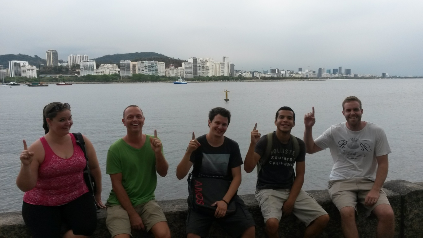 Urca and beers is a good combination in Rio de Janeiro.