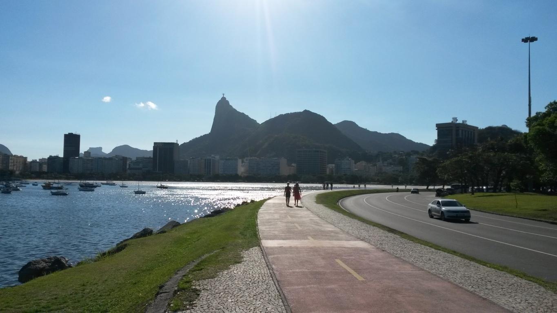Sunny walk in Botafogo