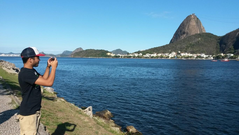 Estudiantes de Rio & Learn en Botafogo