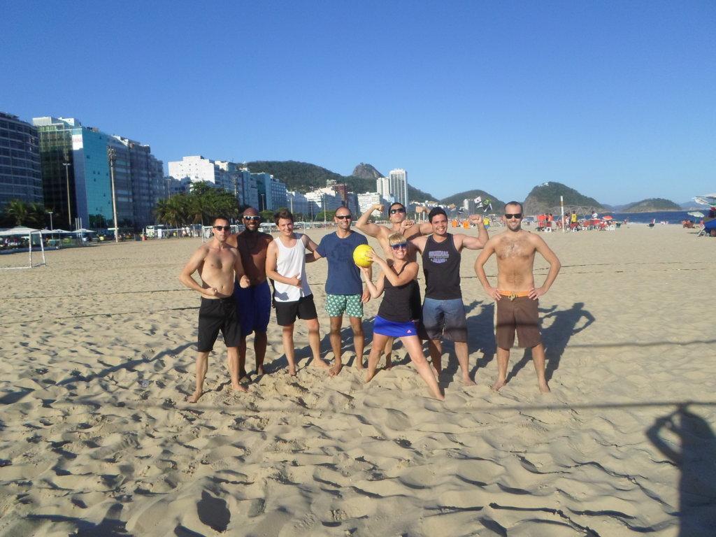RioLIVE! beach volley Copacabana