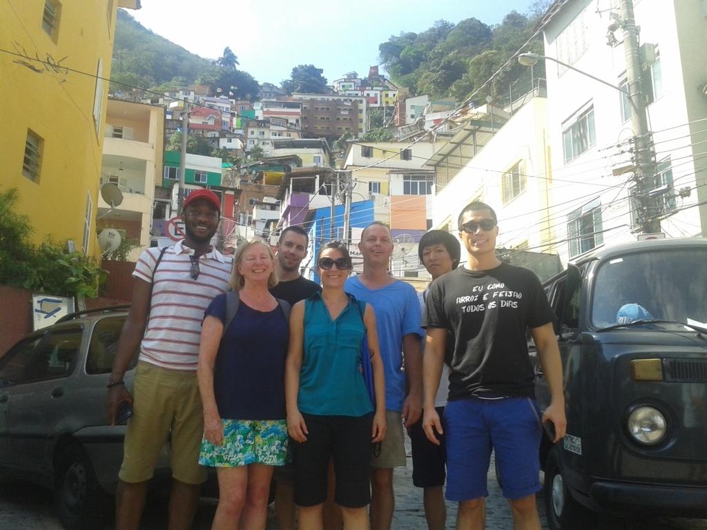 RioLIVE! en la favela