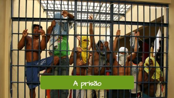 Vocabulário criminal em Português: A prisão.