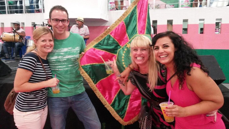 At Mangueira Samba School
