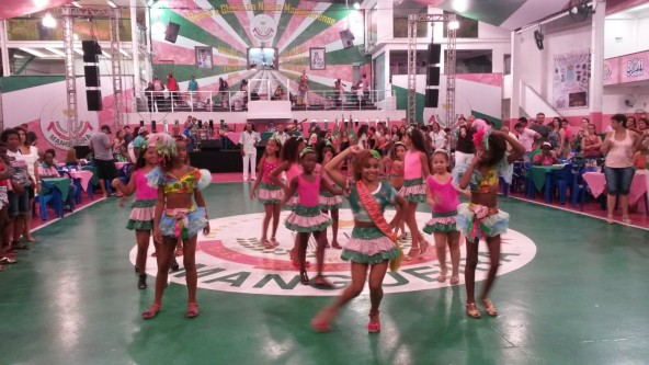 Samba School kids from Mangueira